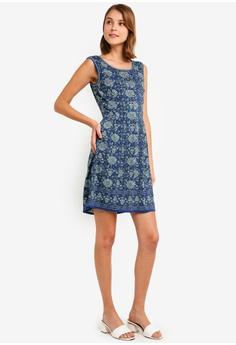 866fab90f78 Max Studio Printed Fit and Flare Dress S  66.90. Sizes XS S M L XL