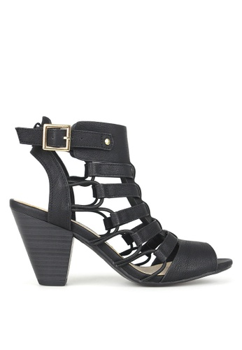 Betts black Awesome Strappy Sandals 80B30SHA1F4A3DGS_1