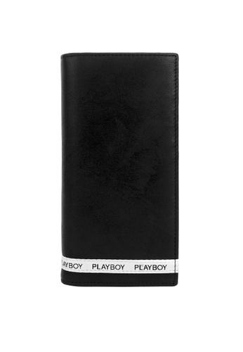 Playboy black Tape Long Wallet 10653ACE4F9672GS_1