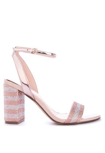ALDO gold Carerith Heels 367B3SH8B593C1GS_1