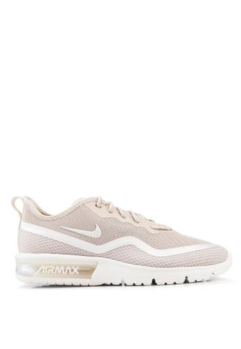 separation shoes 962e5 05244 Nike beige Women s Nike Airmax Sequent 4.5 SE Shoes 9A18FSH68642A2GS 1