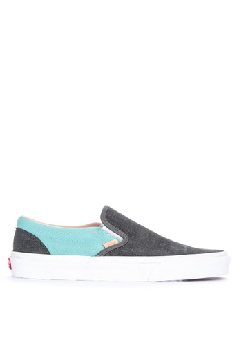 VANS multi Textured Suede Classic Slip-On Sneakers 8D009SH91009EFGS_1