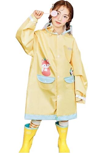 Twenty Eight Shoes yellow VANSA Fashion Cartoon Raincoat VCK-R15280A 78520KA03D0EBDGS_1