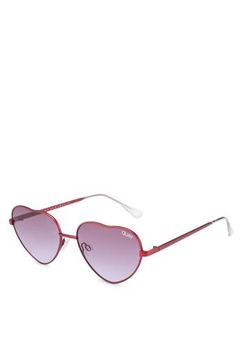 06c37a8990 Quay Australia red Kim Sunglasses 1681DGL4252FEDGS 1
