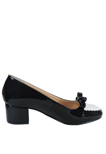 Jacque black Emily Black Low Heels JA262SH58LXLMY_1