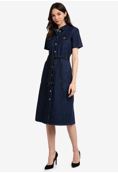 10fd8a0b61a Dorothy Perkins Indigo Denim Shirt Dress S  89.90. Available in several  sizes