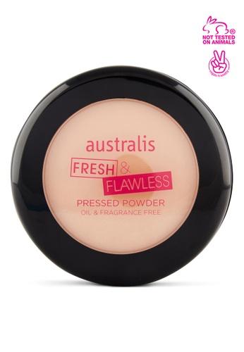 Australis n/a Fresh and Flawless Pressed Powder Medium Tan C931CBE10FBE06GS_1