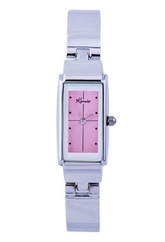 Kimio Youthful Stainless Steel Wire Quartz Watch - Pink Dial