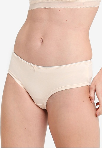 ZALORA CORE beige Core Women's Bikini Panty DB918USE1DA2CEGS_1