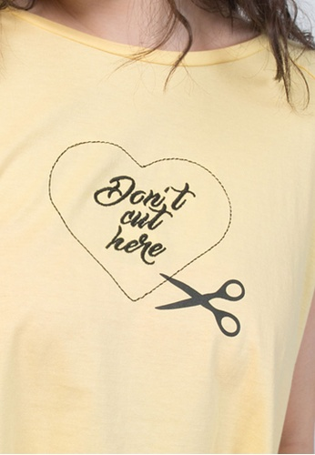 low priced 547d4 2871a Don`T Cut My Heart Crop Top