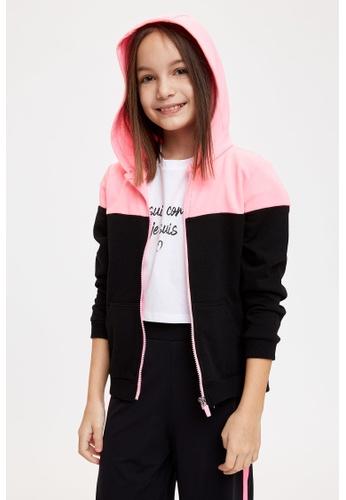 DeFacto black Girl Knitted Cardigan / Bolero 29B86KA76790D9GS_1