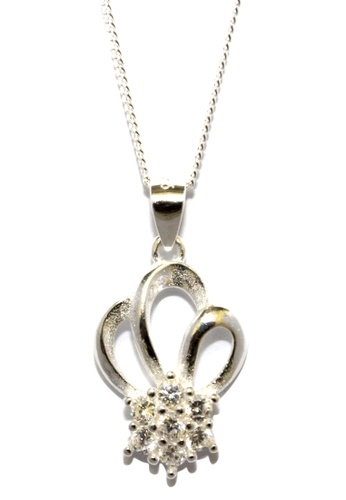 Venice Jewelry silver Priscilla Necklace VE564AC21HISPH_1