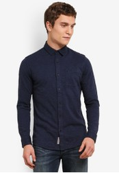 Calvin Klein blue Wersey Shirt - Calvin Klein Jeans CA221AA0SA58MY_1