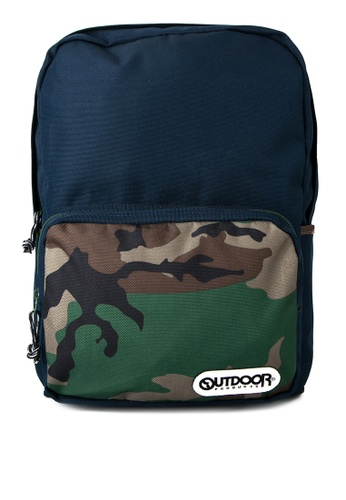Outdoor Products multi Retro 2 Backpack M OU226AC0JY8TPH_1