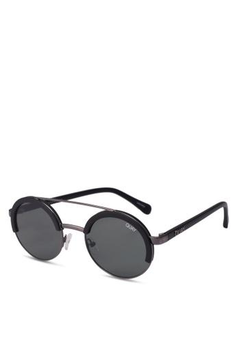 Quay Australia black Come Around Sunglasses D042EGL39005AEGS_1