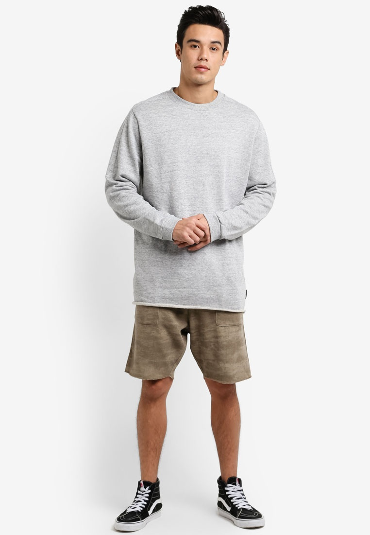 Grey Cotton On Shirt Among Tall Equals T Crew Marle HSxwnT0pqW
