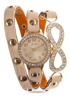 Infinity Wrap Bracelet Watch 14372