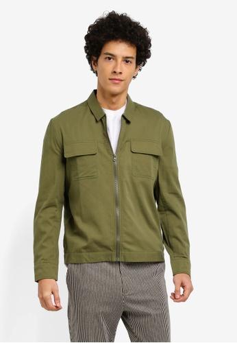 ZALORA green Harrington Jacket 8DA9DAA8718962GS_1
