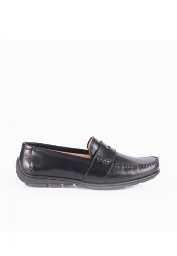 Bristol Shoes black Hudson Black Driving Shoes 979E5SHA4B8BD4GS_1