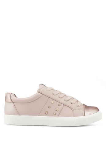 ONLY 粉紅色 經典運動鞋 777A3SH94585CFGS_1