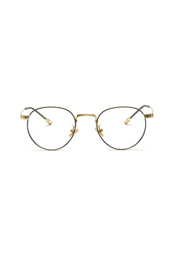 Kyfer's Eyewear & Essentials black and gold Vintage Classico Eyewear II KY376AC06MYVSG_1