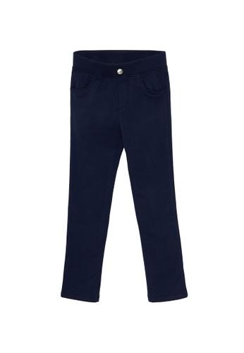 Du Pareil Au Même (DPAM) navy Plain Pants 95EF4KA54268D5GS_1