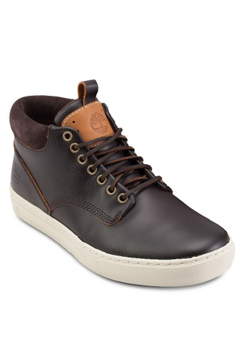 Adventure 2.0 繫帶皮革運動鞋, 鞋,esprit outlet 高雄 鞋