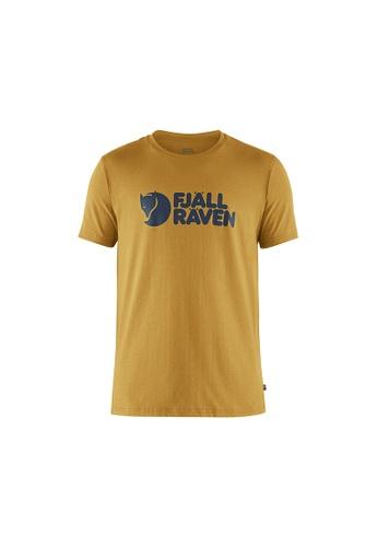 Fjallraven yellow Fjallraven Logo T-shirt M Ochre 5E264AA255942DGS_1