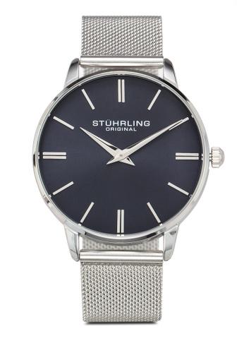 Stuhrling Original silver Preston 3998 Watch A0F1FAC700DB7AGS_1
