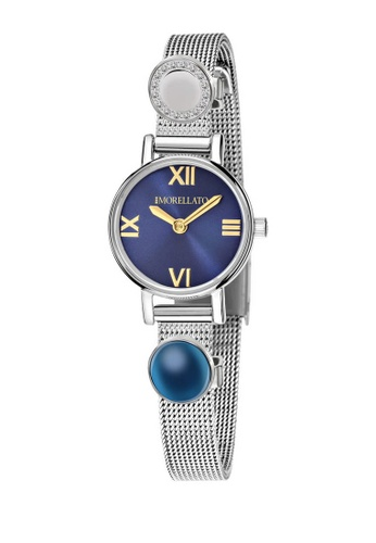 Morellato silver Sensazioni Quartz Watch R0153142520 Silver Metal Strap E6EEAAC5670E12GS_1