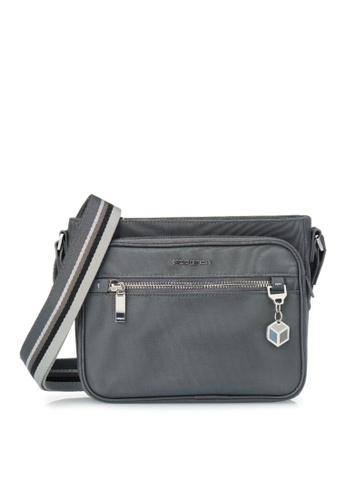 Hedgren grey Hedgren Women Magical Crossover Multi Pockets Bag Iron Gate - 2.83L F8C5EAC4EE671FGS_1