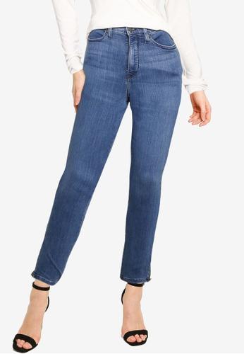 Banana Republic 藍色 High Rise Oak Wash Jeans 78CE7AA2E2F65FGS_1