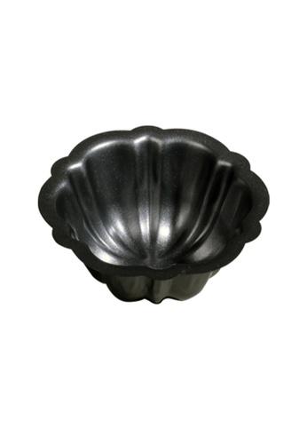 Slique grey Premium Non-Stick Flower Muffin Pan 8D612HL8526F2BGS_1