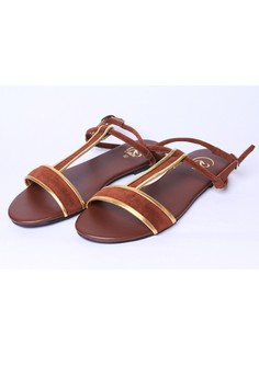 Angelle T-strap Open Toe