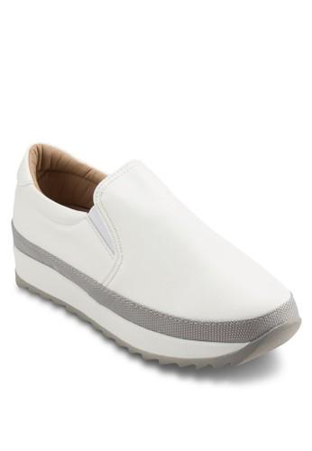 撞色厚底運動風懶人鞋esprit 請人, 女鞋, 鞋