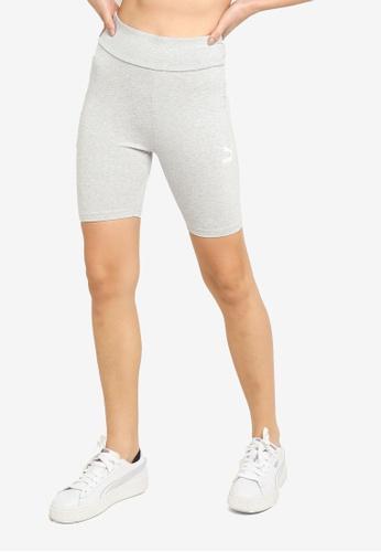 PUMA grey Classics Women's Short Leggings 7795DAA929F26DGS_1