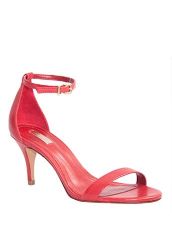 Covet red Schutz Petrina Ankle Strap Heels CO331SH34EMVPH_1