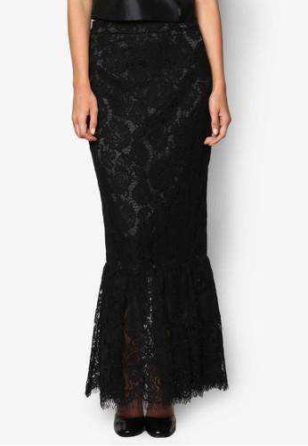 蕾絲魚尾長裙, 服飾, esprit高雄門市裙子