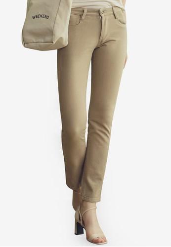 Eyescream beige Basic Skinny Pants 4A71BAA1B10567GS_1