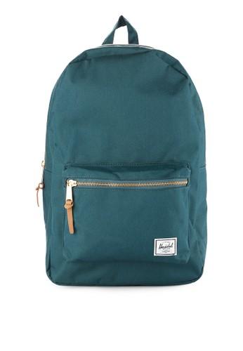 Herschel green Settlement Backpack 756E9AC508E4CAGS_1