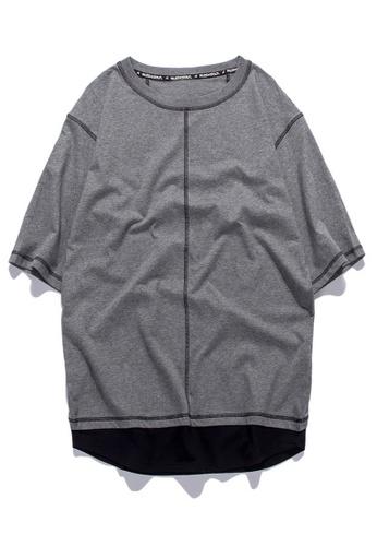 HAPPY FRIDAYS Oversize Casuel Half Sleeve T-shirt RS1180 ED744AA7150DC5GS_1