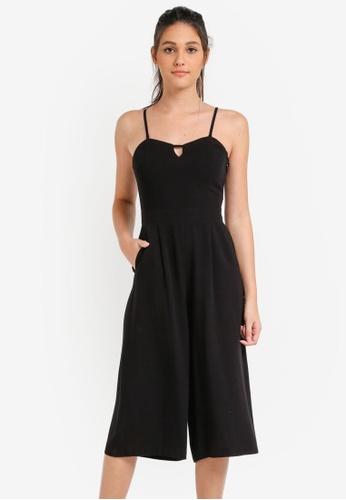 Something Borrowed black Cami Jumpsuit 0793BAAAE99507GS_1