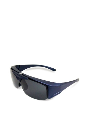 ASLLY black and blue and multi Full covered│Fit over sunglasses 16BF0GL11EB417GS_1