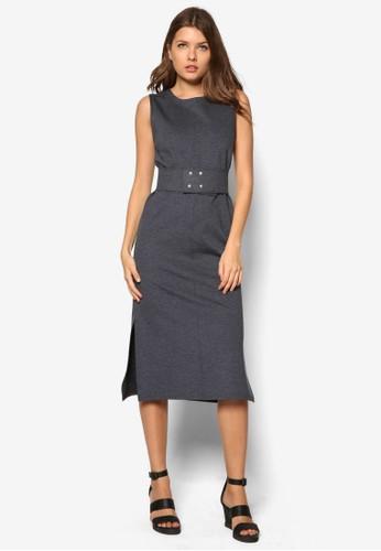 Bellevuzalora 內衣e 腰帶無袖連身裙, 服飾, 服飾