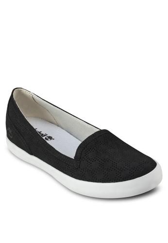 Besprit 請人rattleboro 經典沖孔懶人皮鞋, 女鞋, 休閒鞋