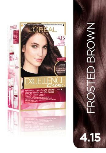 L'Oréal Paris brown L'Oréal Paris Excellence Crème - 4.15 Frosted Brown LO674BE15COQPH_1