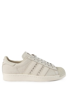 9bb9410ce8c2a adidas white adidas originals superstar 80s w CBFA0SH10134BAGS 1