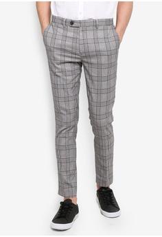 244ed22e8c1be River Island grey Check Crop Fit Trousers 2EC08AA698431FGS 1