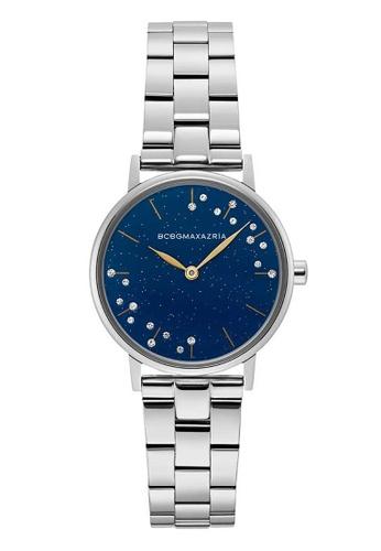 BCBG silver BCBGMAXAZRIA Silver Stainless Steel Watch 125C7AC971ECDAGS_1
