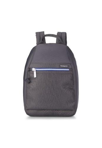 Hedgren grey Hedgren Women Vogue Backpack Small RFID Active Ebony - 5.87L 72AA3AC1BFD8DEGS_1
